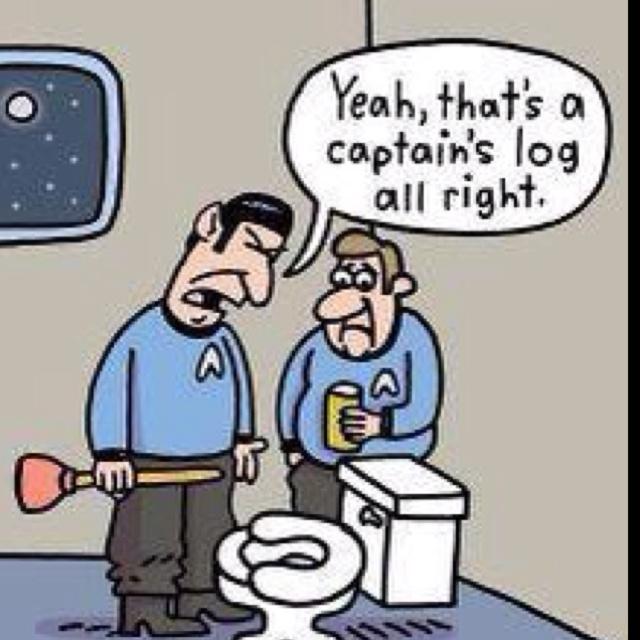 74 best star trek star wars memes images on pinterest for Bathroom jokes