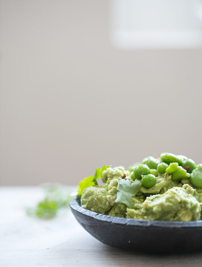 spring pea + fava bean guacamole with root chips - what's cooking good looking - a healthy, seasonal, tasty food and recipe journal