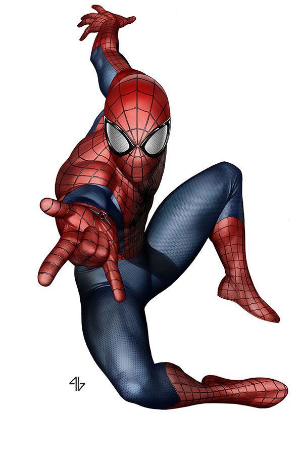 The Amazing Spider-Man By Adi Granov