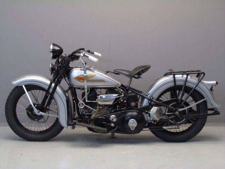 Harley Davidson: Harley Davidson 1935 35VLDD 1340 Cc
