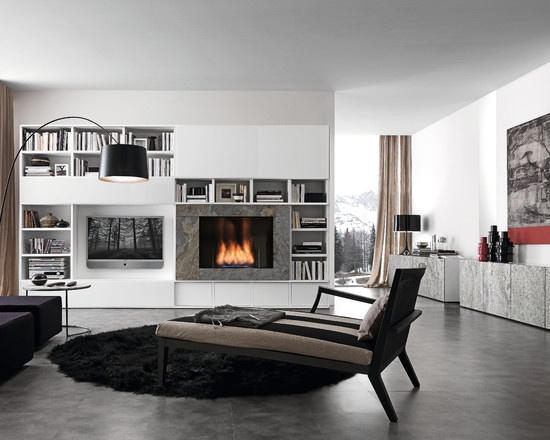 Design Living Room With Fireplace And Tv 66 best room design: media and television images on pinterest