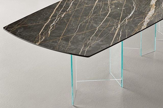 Dining Table By Tonelli With A Laminam Porcelain Top Were Able To