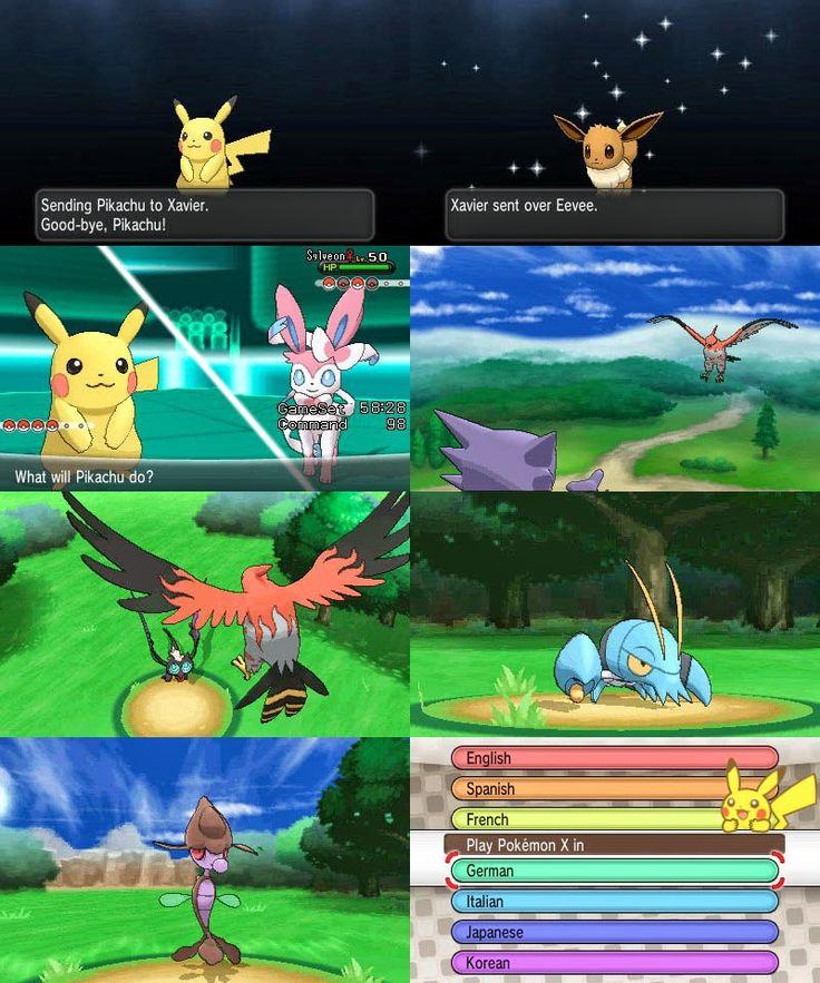 скачать игру Pokemon X And Y на компьютер через торрент - фото 3