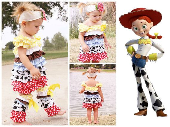 jessie from toy story inspired girls petti dress perfect outfit for toddlers halloween costume pageant costume - Toddler Jessie Halloween Costume