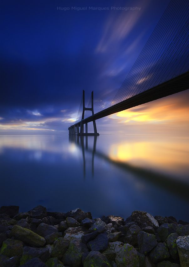 Vasco da Gama Bridge, Lisbon, Portugal