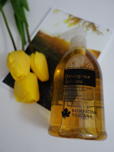 All my cosmetics: Sprchový gel Biofficina Toscana