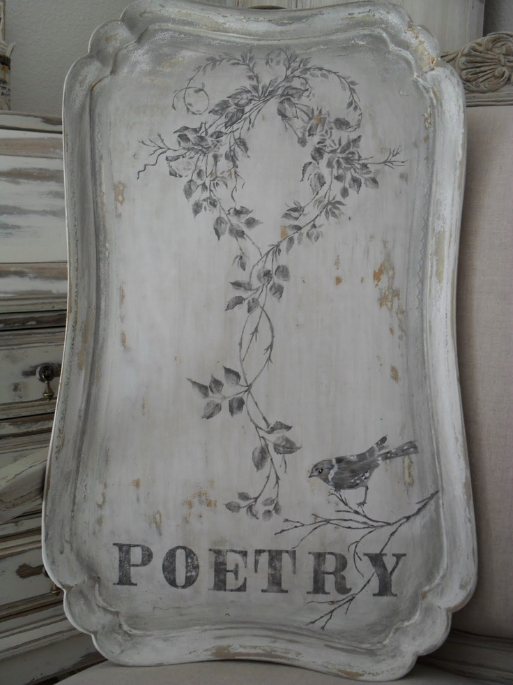 Burlap Luxe: She...Painted Poetry