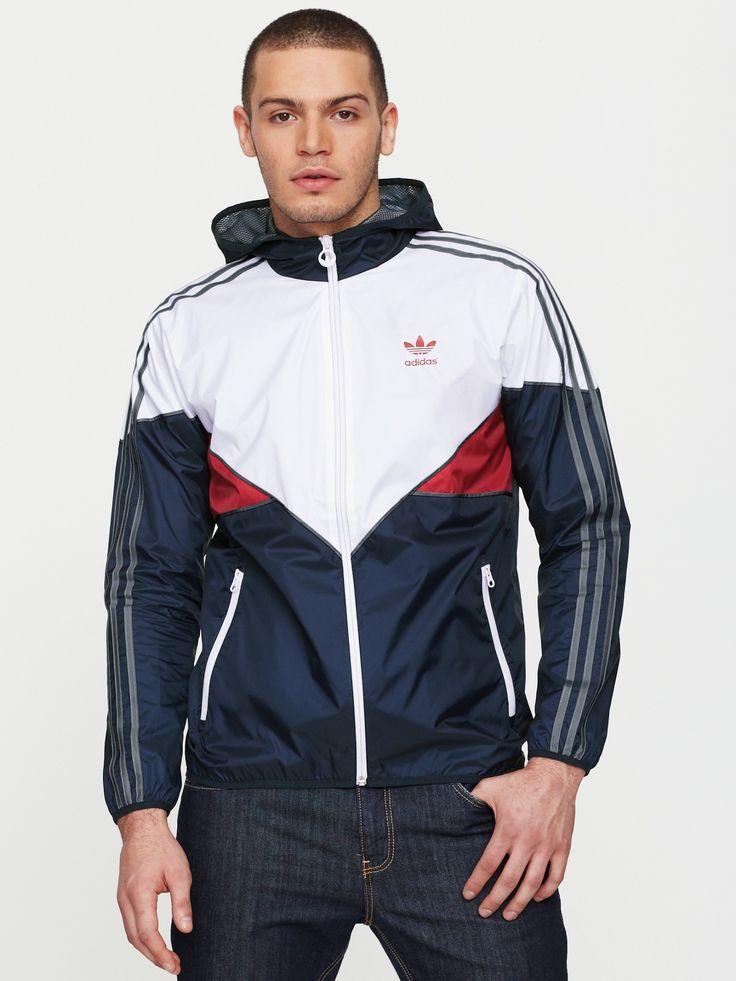 adidas OriginalsMens Wind Breaker Jacket | Very.co.uk