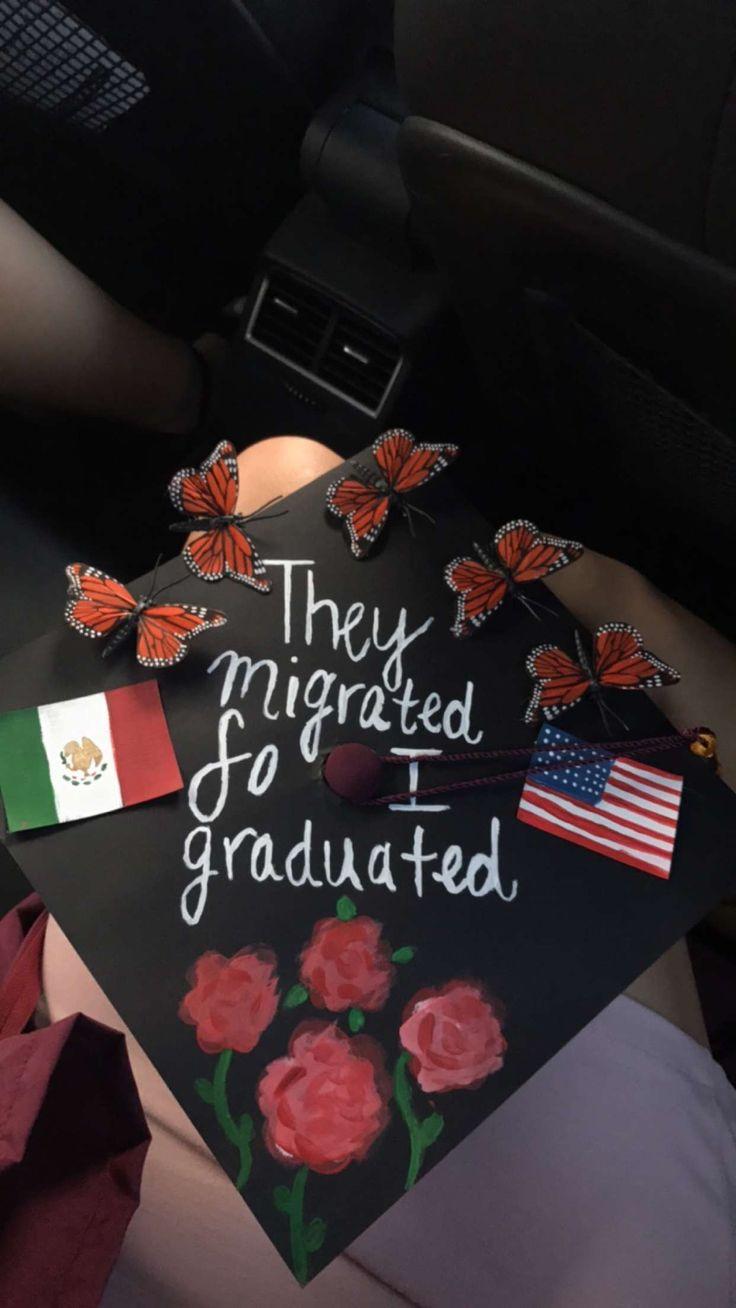 How I ended up decorating my cap! #latina #graduation #cap #mexico