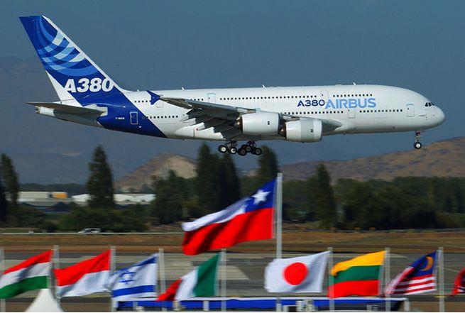 Llega Avion de pasajeros mas grande del Mundo, a la FIDAE 2014 en CHILE (800 pasajeros) aprox....!!!