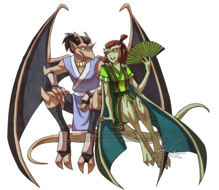 Avatar-Goyles : Sokka + Suki by *YoukaiYume on deviantART