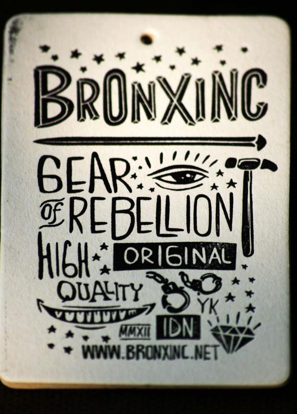 BRONXINC by MCMURS LETTERPRESS YK , via Behance