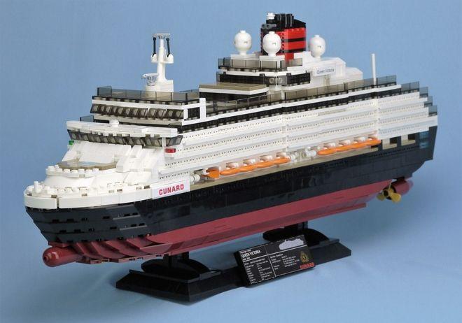 LEGO Ideas - Queen Victoria Cruise Ship