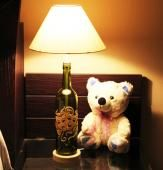 Get the perfect combo that is sure to become an instant favorite of your kids.. (Add a whimsical look to your children's room with this beautiful two face lamp and cute teddy soft toy. A perfect combo which has bas, a very attractive 20 inch fancy table lamp and a cute 10 inch teddy that is sure to delight your kids.) (Shipping Status) GiftsXpert.in - Product deliver by Courier in 3 to 5 days l