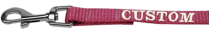 Custom Embroidered Nylon Dog Leash http://www.barklands.com/product-category/beds-furniture/
