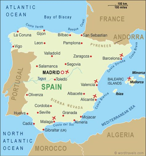 Best Travel Places That I Love Images On Pinterest Travel - Barcelona map of europe
