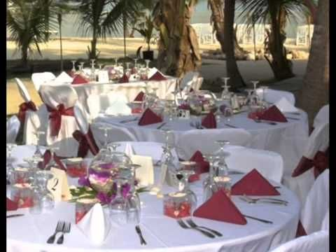Wedding Reception Table Decoration