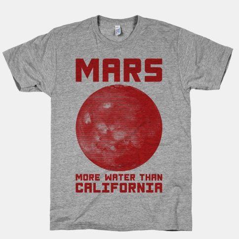Mars More Water Than California