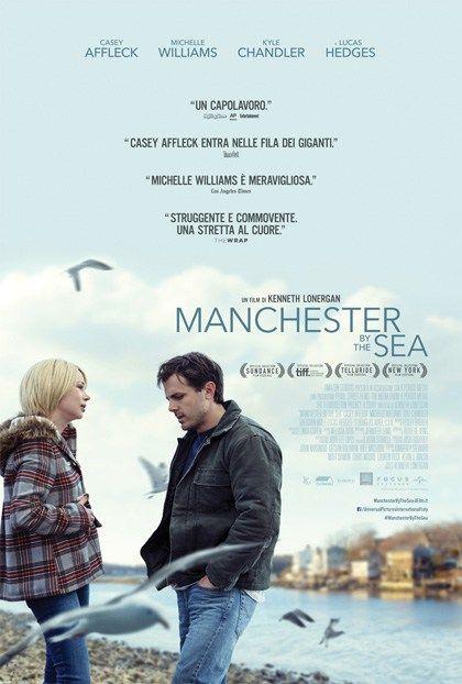 Manchester by the Sea, un film drammatico del 2016, diretto da Kenneth Lonergan, interpretato da Casey Affleck e Michelle Williams.