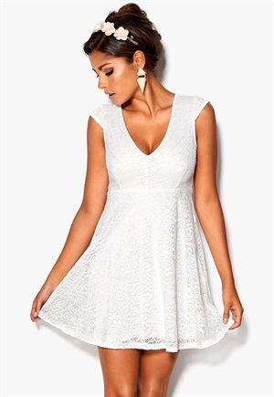 Chiara Forthi Goddess Dress Pearlwhite