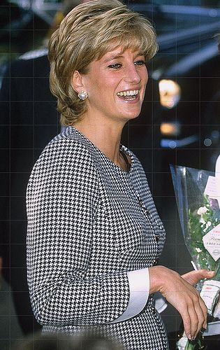 October, 1995: Diana, Princess of Wales visiting Edgbaston's National Institute of Conductive Education as its patron.
