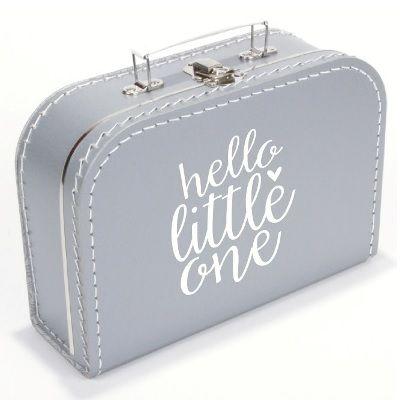 Een stijlvol en stoer koffertje om al je rommeltjes of speelgoed in op te bergen!