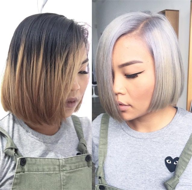 One Session Success: Working Through Old Color to an Icy Blonde - Hair Color - Modern Salon