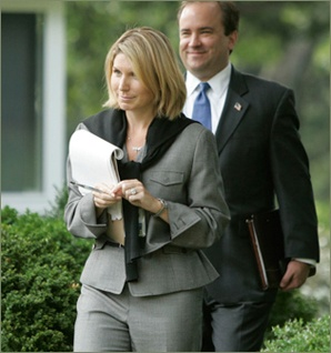 Nicolle Wallace - Communications Chief for George W. Bush, adviser to the McCain-Palin ticket and bestselling author