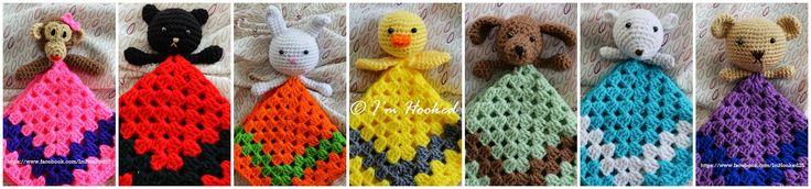 Crochet Lovies! :D From KeepingBusy2014.blogspot.mx