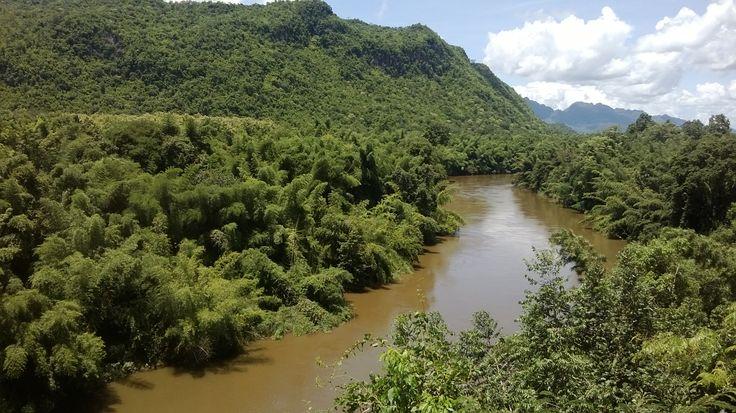 the River Kwai, kanjanaburi