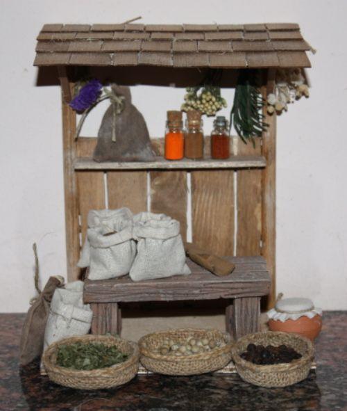 Foro de Belenismo - Miniaturas, detalles y complementos -> Puesto de mercado