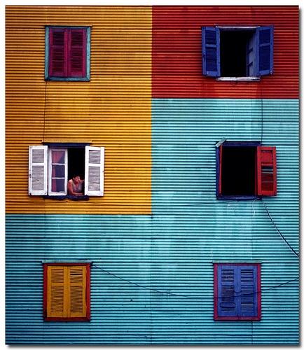 Caminito windows - Buenos Aires, Argentina - dimensiones