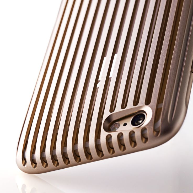 """[Made in Japan] SQUAIR """"The Slit"""" for iPhone 6s/6   Alminum Dress Case (Extra Super Duralumin A7015)"""