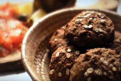 Nigella's Irish Oaten Soda Bread Rolls