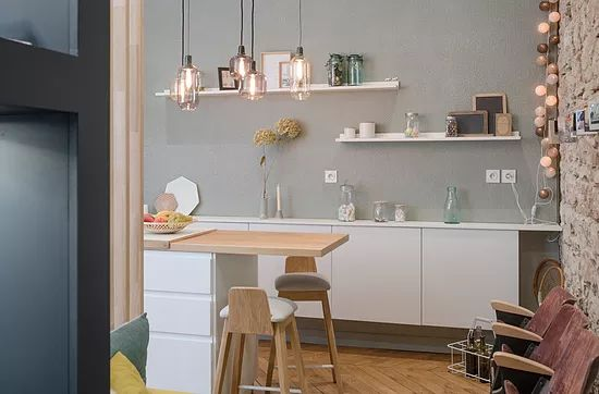 ÔRIZONS une collection de 9 motifs  en 3D dessinés par l'artiste Carine de Marin, pour façades de meuble, cuisine, salle de bain, bar, rangements, dressing...