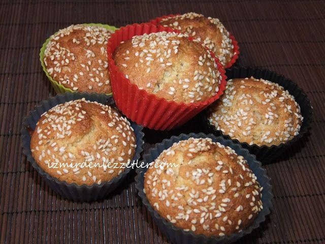 İncirli Cevizli Muffin, İzmirdenlezzetler Oya Genç
