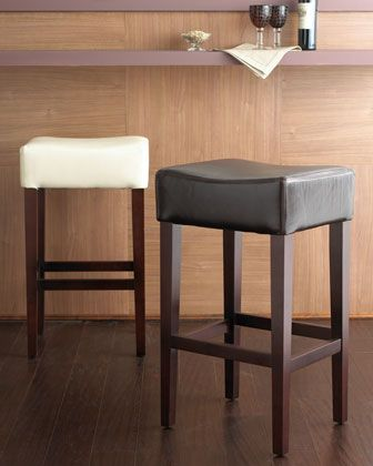 Traditional Classic Bicast Leather Espresso High Counter Stool traditional bar stools and counter stools Lamps Plus