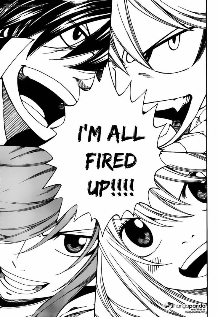 Im all fire up!!!//fairy tail natsu lucy gray erza