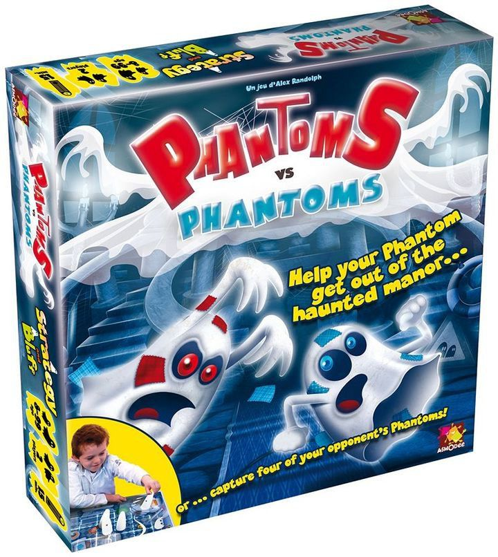 26 Must-Have Toys and Games to Gift Your Little Ghosts Before Halloween Phantoms vs. Phantoms Game Asmodee Phantoms vs. Phantoms Game ($30)