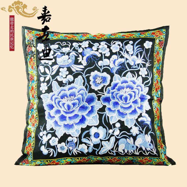 Goedkope Etnische chinese nieuwe prachtige borduurwerk geborduurde kussen kussen hot modellen, koop Kwaliteit kussen rechtstreeks van Leveranciers van China: Xlmodel- custom- 14781Xlmodel- custom- 88881