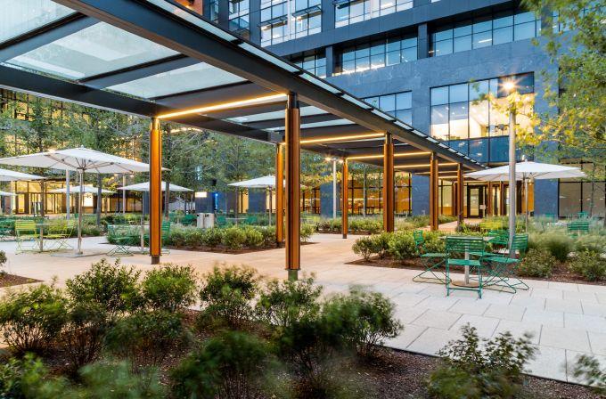 Partners HealthCare Corporate Campus   Landscape