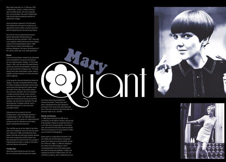Mary Quant.