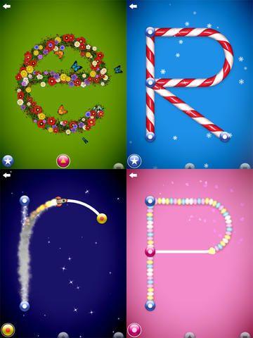 Den coolaste appen att träna sig på att forma bokstäver i!
