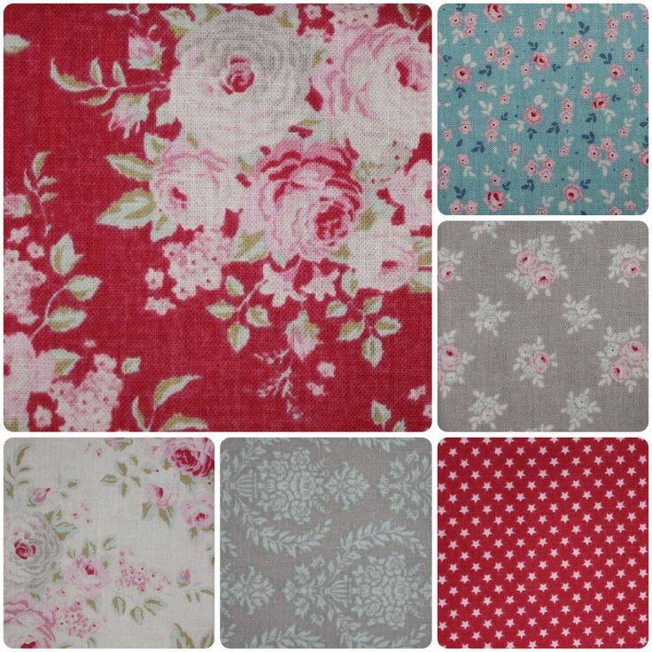 Sweet Christmas range of fabrics by Tilda