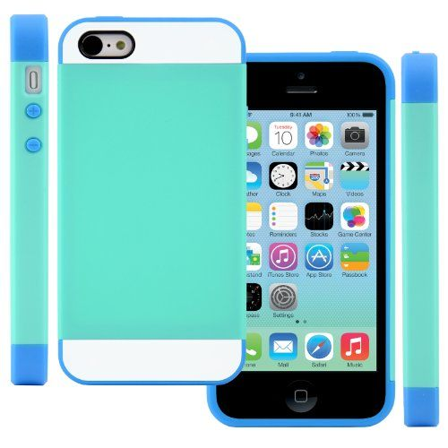 CellJoy Apple iPhone 5C 5 C Case Protective [Vivid Hybrid ...