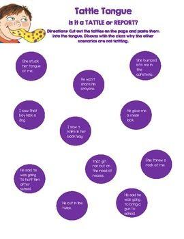 22 best Tattle tongue activities images on Pinterest | Julia cook ...