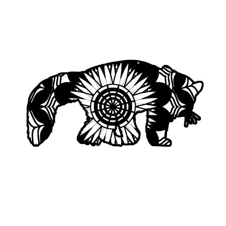 183+ Mandala Panda Svg – SVG,PNG,DXF,EPS include