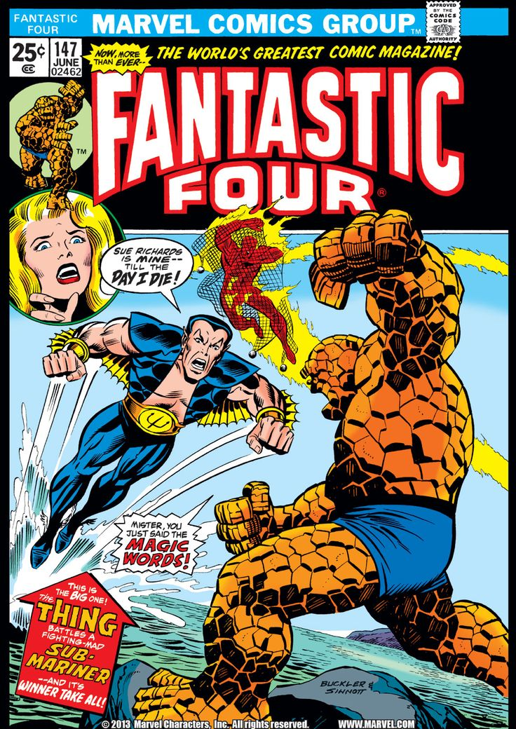 Fantastic Four (1961) Issue #147 - Read Fantastic Four (1961) Issue #147 comic online in high quality