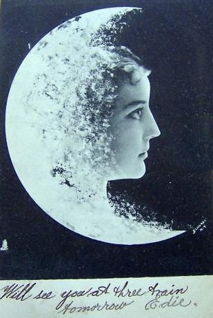 Vintage Moon Face 17 Best ideas about Mo...