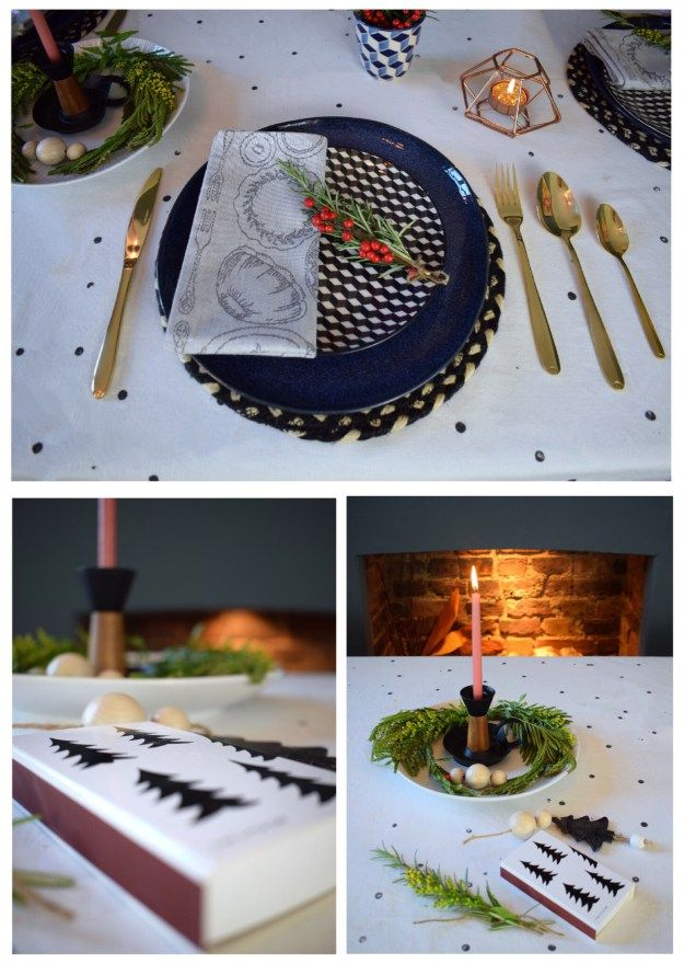 Winter dining christmas styling ideas and inspiration, simple nordic scandinavian design (2)